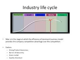 nike strategic analysis core competences and knowledge management 12 industry life cycle