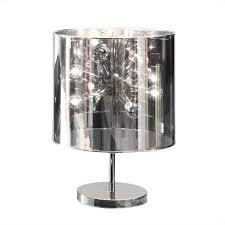 zuo supernova table lamp in chrome