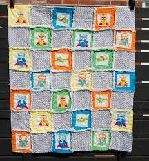 Baby Boy Quilt Patterns Ideas | HomesFeed & Beautiful and cozy quilt for baby boy with cute pictures Adamdwight.com