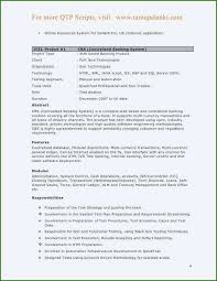 Sql Server Experience Resumes 47 Stunning Sample Resume For 3 Years Experience In Selenium