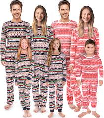 Designer Christmas Pajamas Rnxrbb Matching Christmas Pajamas Family Set Holiday Pjs Matching Couples Kid Warm Sleepwear Classic