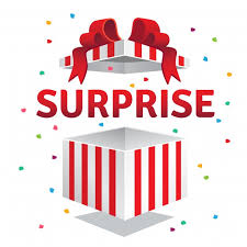 Surprise Images Free Opened Surprise Gift Box Vector Free Download