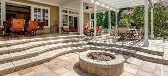 10 inspiring garden patio paving ideas