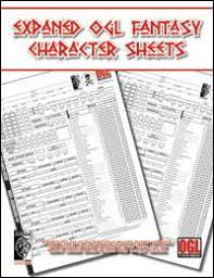character sheet pathfinder expanded pathfinder character sheet open gaming store