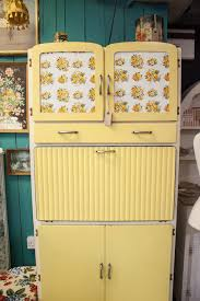Yellow Kitchen This Vintage Yellow Kitchen Larder Cabinet Is Amazing I Want One