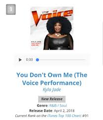 Itunes Top 100 Chart The Voice