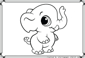 Mommy And Baby Elephant Coloring Page Mom Pages Mother Happy