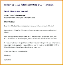 Resume Follow Up Email Samples Follow Up On Resume Follow Up Email Up Email Template After Follow