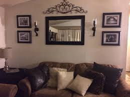 wall mirrors horizontal decorative wall mirrors wall art within cur mirrored frame wall art