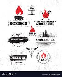 Smokehouse A Design Company Smokehouse Barbecue Meat On Fire Menu Artisanal