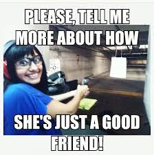 Girlfriend problems . on Pinterest | Girlfriends, Walking Dead ... via Relatably.com