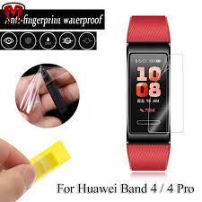 Miếng Dán Tpu Bảo Vệ Màn Hình Cho Huawei Band 4 4 Pro - Phụ Kiện Thiết Bị Đeo  Thông Minh