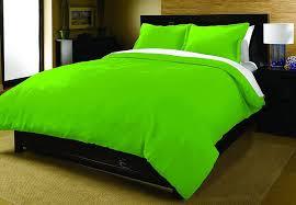 green queen duvet cover