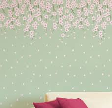 image of simple decorative wall stencils