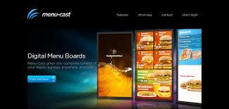 Best Website Menu Design Software Menu Cast Website Has A Great Web