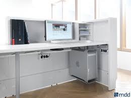 valde countertop curved long reception desk