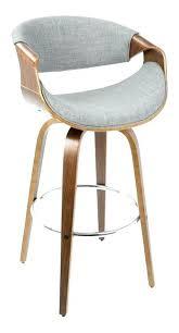 mid century modern stools. Danish Modern Bar Stools Mid Century Camber Stool Walnut And Gray Metal Y