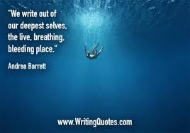 Andrea Barrett Quotes Bleeding Place Simple Inspirational Writing Quotes