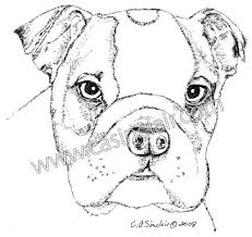 bulldog puppy drawing. Contemporary Puppy Drawings Of Dog 1415029 License Personal Use On Bulldog Puppy Drawing N
