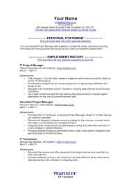 Resume Templates Monster Best Of Monster Monsters Sample Resume And Resume Examples
