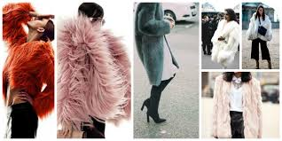 2017 winter trend faux fur coats