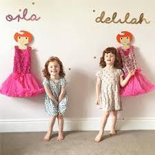 Princess Coat Rack Gorgeous Cute Cartoon Princess Girls Wooden Children Clothes Hanger Nordic