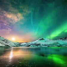 aurora northern lights 4k iPad Pro ...