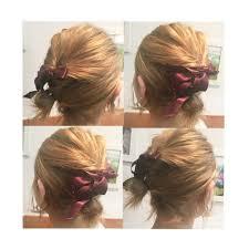 ヘアアレンジボブ編簡単にできるおすすめの大人可愛い髪型は