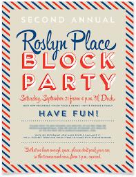 Neighborhood Party Invitation Wording Neighborhood Party Invitation Template