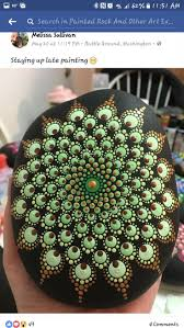 Dot Painting, Stone Painting, Cercei, Stones Throw, Mandala Design, Painted  Stones, Rock Art, Mosaics, Art Ideas