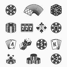 horseshoe game clipart. Perfect Game Gambling Icons Set Illustration To Horseshoe Game Clipart R