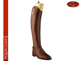 brown leather riding boots image 1