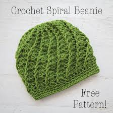 Crochet Patterns Hats Interesting Crochet Spiral Beanie Free Crochet Pattern Loganberry Handmade