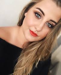 create a natural fresh look with orange lips free tutorial with pictures on how to