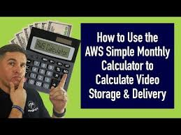 Simple Monthly Calculator Amazon Web Services Monthly Calculator For Hosting Fast Video Explained In Detail