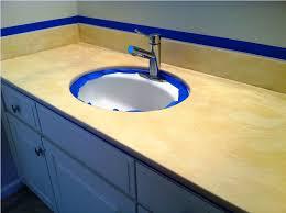 paint countertops bathroom