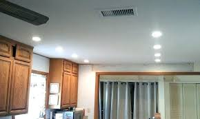 how to install can lights in an existing ceiling how to install led recessed lighting in
