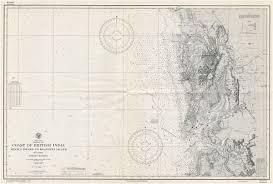 Us Navy Nautical Charts Indian Ocean Arabian Sea Coast Of British India Arnala