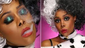 cruella de vil makeup tutorial dark skin watch