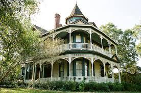 victorian house wrap around porch old