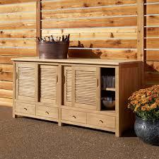 Cabinets For Outdoor Kitchen 72 Touraine Teak Outdoor Kitchen Cabinet Outdoor