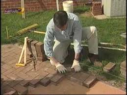 install your own brick patio you