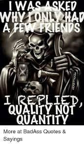 Badass Quotes Fascinating KRAZソTRAIN I WASASKED 48 REPLI QUALITY NO QUANTITY More At BadAss