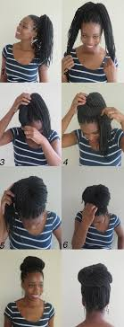 Black Braided Bun Hairstyles 10 Instructions Directing You On How To Style Box Braids