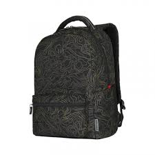 <b>Рюкзак WENGER</b> Colleague 16, черный с рисунком, полиэстер, 22 л