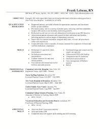 Resume Samples For Nurses For Free Cosy New Registered Nurse Resume