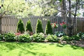 fence landscaping backyard landscaping