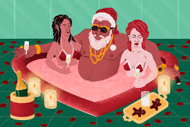A Brief History of Sexy Santa, The Original Sugar Daddy - InsideHook