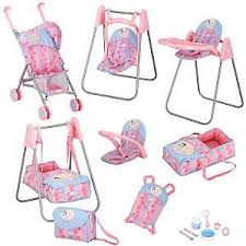 baby doll furniture playset