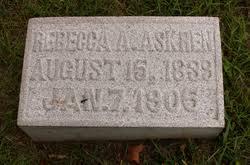 Rebecca Ann Askren (Parker) (1839 - 1905) - Genealogy